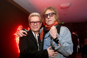 Mick Rock and Billy Idol Photos Photo