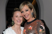 (L-R) Mamie Gummer and Allison Janney attend the Cadillac Oscar Week Celebration at Chateau Marmont on February 6, 2020 in Los Angeles, California.