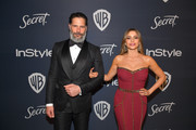 Joe Manganiello and Sofia Vergara attend The 2020 InStyle And Warner Bros. 77th Annual Golden Globe Awards Post-Party at The Beverly Hilton Hotel on January 05, 2020 in Beverly Hills, California.