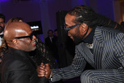 L.A. Reid and 2 Chainz attend YouTube Music 2020 Leaders & Legends Ball at Atlanta History Center on January 15, 2020 in Atlanta, Georgia.