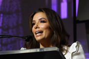 Director, Advocate and Actor in 'Sylvie's Love', Eva Longoria speaks onstage during the 2020 Women at Sundance Celebration hosted by Sundance Institute and Refinery29, Presented by LUNA at Juniper at Newpark on January 27, 2020 in Park City, Utah.