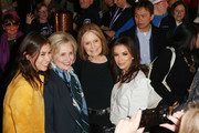 (L-R) Shaandiin Tome, Hillary Rodham Clinton, Gloria Steinem and Eva Longoria attend the 2020 Women at Sundance Celebration hosted by Sundance Institute and Refinery29, Presented by LUNA at Juniper at Newpark on January 27, 2020 in Park City, Utah.