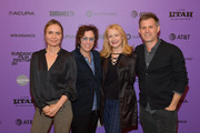 """Radha Mitchell,  Lisa Cholodenko, Patricia Clarkson and John Nein attend the 2020 Sundance Film Festival """"High Art"""" Premiere at Egyptian Theater on February 01, 2020 in Park City, Utah."""