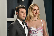 Fedez and Chiara Ferragni attend the 2020 Vanity Fair Oscar Party hosted by Radhika Jones at Wallis Annenberg Center for the Performing Arts on February 09, 2020 in Beverly Hills, California.