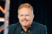 """Jesse Tyler Ferguson of """"Extreme Makeover: Home Edition"""" speaks during the HGTV segment of the 2020 Winter TCA Press Tour at The Langham Huntington, Pasadena on January 16, 2020 in Pasadena, California."""