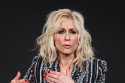 """Judith Light of """"Manhunt: Deadly Games"""""""" speaks on stage during the Spectrum Originals/Lionsgate Television segment of the 2020 Winter TCA Tour at The Langham Huntington, Pasadena on January 18, 2020 in Pasadena, California."""