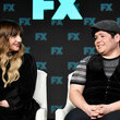 Harvey Guillen and Natasia Demetriou Photos