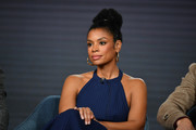 "Susan Kelechi Watson of ""This Is Us"" speaks during the NBC segment of the 2020 Winter TCA Press Tour at The Langham Huntington, Pasadena on January 11, 2020 in Pasadena, California."