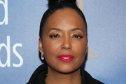 Aisha Tyler attends the 2020 Writers Guild Awards at The Beverly Hilton Hotel on February 01, 2020 in Beverly Hills, California.