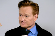 (FOR EDITORIAL USE ONLY)  Conan O'Brien attends the 2020 iHeartRadio Podcast Awards at the iHeartRadio Theater on January 17, 2020 in Burbank, California.