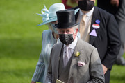 Prince Charles, Prince of Wales and Camilla, Duchess of Cornwall are seen during Royal Ascot 2021 at Ascot Racecourse on June 15, 2021 in Ascot, England.