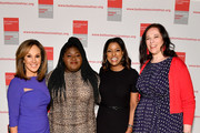 Rosanna Scotto, Gabourey Sidibe, Lori Stokes and Melissa Norden attend the 20th Anniversary Bottomless Closet Luncheon at Cipriani 42nd Street on May 15, 2019 in New York City.