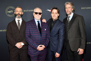 (L-R) Actors Jeremy Strong, Brian Cox, Kieran Culkin and Alan Ruck attend the 20th Annual AFI Awards at Four Seasons Hotel Los Angeles at Beverly Hills on January 03, 2020 in Los Angeles, California.