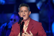 Alejandro Sanz performs onstage during the 20th annual Latin GRAMMY Awards at MGM Grand Garden Arena on November 14, 2019 in Las Vegas, Nevada.