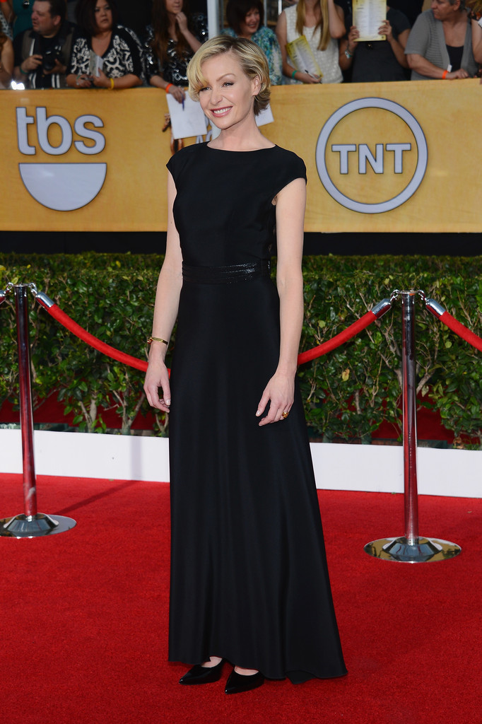 Actress Portia de Rossi attends the 20th Annual Screen Actors Guild Awards at The Shrine Auditorium on January 18, 2014 in Los Angeles, California.