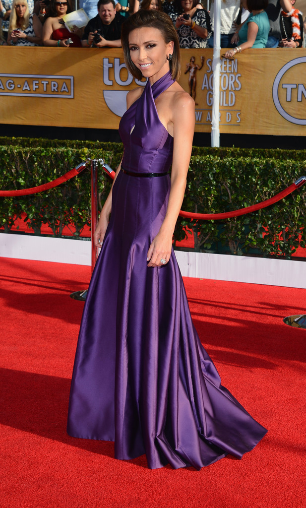 TV personality Giuliana Rancic attends the 20th Annual Screen Actors Guild Awards at The Shrine Auditorium on January 18, 2014 in Los Angeles, California.
