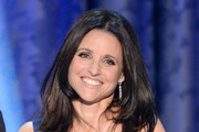 Actress Julia Louis-Dreyfus speaks onstage during the 20th Annual Screen Actors Guild Awards at The Shrine Auditorium on January 18, 2014 in Los Angeles, California.