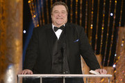Actor John Goodman speaks onstage during the 20th Annual Screen Actors Guild Awards at The Shrine Auditorium on January 18, 2014 in Los Angeles, California.