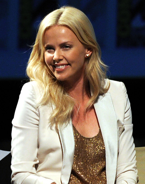 Actress Charlize Theron speaks at 20th Century Fox Panel at the San Diego Convention Center on July 21, 2011 in San Diego, California.