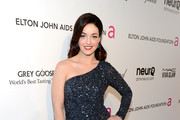 Actress Sadie Alexandru attends the 21st Annual Elton John AIDS Foundation Academy Awards Viewing Party at Pacific Design Center on February 24, 2013 in West Hollywood, California.