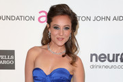 Actress Lauren Mayhew arrives at the 21st Annual Elton John AIDS Foundation's Oscar Viewing Party on February 24, 2013 in Los Angeles, California.