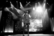 This image has been converted to black and white.)  Brandy performs onstage during the 21st Annual Huading Global Film Awards at The Theatre at Ace Hotel on December 15, 2016 in Los Angeles, California.
