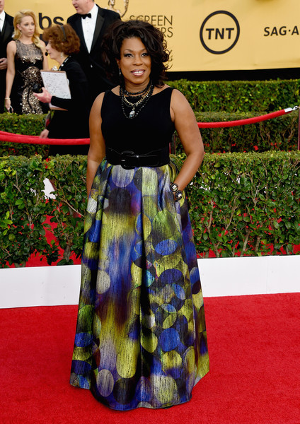 Actress Lorraine Toussaint attends the 21st Annual Screen Actors Guild Awards at The Shrine Auditorium on January 25, 2015 in Los Angeles, California.