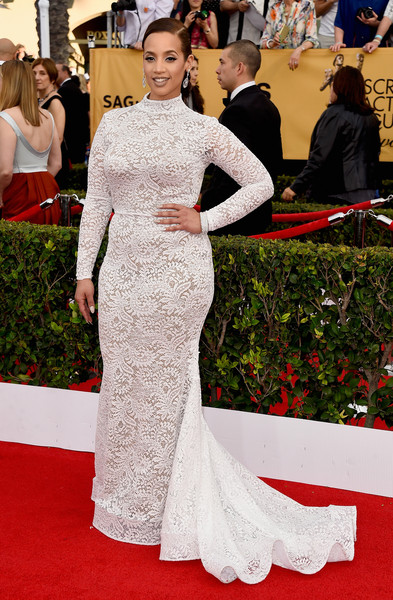 Actress Dascha Polanco attends the 21st Annual Screen Actors Guild Awards at The Shrine Auditorium on January 25, 2015 in Los Angeles, California.