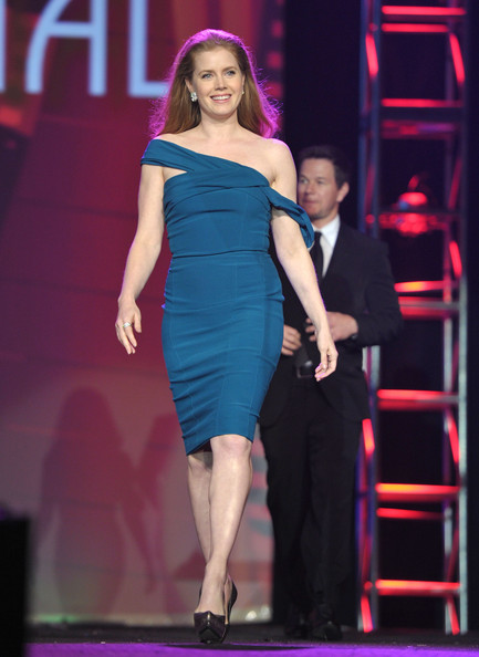 Actress Amy Adams walks onstage during the 22nd Annual Palm Springs International Film Festival Awards Gala at the Palm Springs Convention Center on January 8, 2011 in Palm Springs, California.