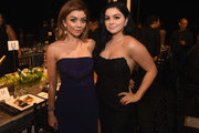 Actors Sarah Hyland (L) and Ariel Winter attend The 22nd Annual Screen Actors Guild Awards at The Shrine Auditorium on January 30, 2016 in Los Angeles, California. 25650_021