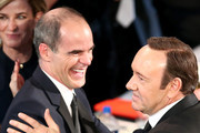 Actors Michael Kelly (L) and Kevin Spacey attend The 22nd Annual Screen Actors Guild Awards at The Shrine Auditorium on January 30, 2016 in Los Angeles, California. 25650_018