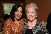 Filmmaker Mira Nair (L) and honoree Kathy Bates attend the 23rd Annual ELLE Women In Hollywood Awards at Four Seasons Hotel Los Angeles at Beverly Hills on October 24, 2016 in Los Angeles, California.
