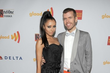 Perez Hilton Kat Graham 23rd Annual GLAAD Media Awards Presented By Ketel One And Wells Fargo - Red Carpet