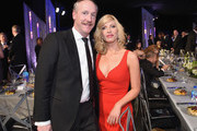 Actors Matt Walsh and Morgan Walsh attend the 23rd Annual Screen Actors Guild Awards Cocktail Reception at The Shrine Expo Hall on January 29, 2017 in Los Angeles, California.