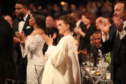 Actors Natalie Portman and Kevin Spacey during The 23rd Annual Screen Actors Guild Awards at The Shrine Auditorium on January 29, 2017 in Los Angeles, California. 26592_012