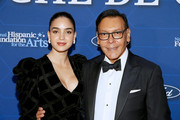 Actress Melissa Barrera and NHFA Co-Founder Felix Sanchez attend the National Hispanic Foundation for the Arts' 23rd Annual Noche de Gala on September 18, 2019 in Washington, DC.