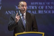 Azerbaijan's President Ilham Aliev delivers a speech during the 23rd World Energy Congress on October 10, 2016 in Istanbul. .Russian President Vladimir Putin visits Turkey on October 10, 2016 for talks with counterpart Recep Tayyip Erdogan, pushing forward ambitious joint energy projects as the two sides try to overcome a crisis in ties.  / AFP / OZAN KOSE
