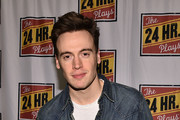Erich Bergen attends 24 Hour Musicals at The Pershing Square Signature Center on June 17, 2019 in New York City.
