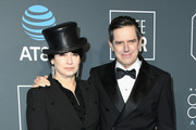 Amy Sherman-Palladino (L) and Daniel Palladino attend the 24th annual Critics' Choice Awards at Barker Hangar on January 13, 2019 in Santa Monica, California.