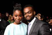 Kirby Howell-Baptiste (L) and William Jackson Harper attend the 24th annual Critics' Choice Awards at Barker Hangar on January 13, 2019 in Santa Monica, California.