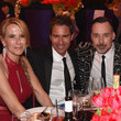 David Furnish Janet Holden Photos