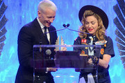 Anderson Cooper and Madonna Photos Photo