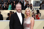 Actors Matt Walsh (L) and Morgan Walsh attend the 24th Annual Screen Actors Guild Awards at The Shrine Auditorium on January 21, 2018 in Los Angeles, California. 27522_017