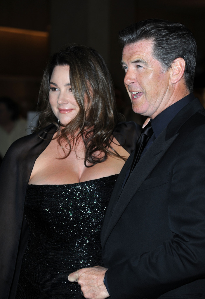 Genesis Wife Pierce Brosnan And Keely Shaye Smith Photos