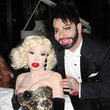 Amanda Lepore and Harald Gloeoeckler Photos