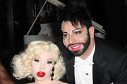 Amanda Lepore and Harald Gloeoeckler Photos Photo
