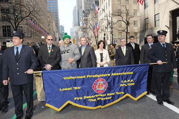 Eddie Brown 250th Annual New York City St. Patrick's Day Parade