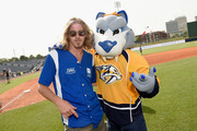 Bucky Covington showed of his softball skills for charity at City of Hope's 25th Annual Celebrity Softball Game at the new First Tennessee Park during CMA Music Festival in Nashville.