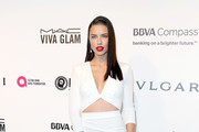 Adriana Lima in White Cutouts - The Most Fabulous Dresses at the Oscar After Parties 2017