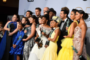 Cast of 'This Is Us,'  winners of Outstanding Performance by an Ensemble in a Drama Series, pose in the press room during the 25th Annual Screen ActorsGuild Awards at The Shrine Auditorium on January 27, 2019 in Los Angeles, California.